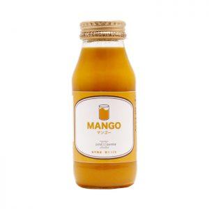 ナッツアンドコーヒーのマンゴージュース