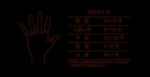 指輪の平均サイズ