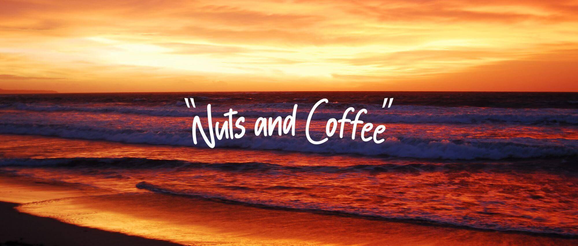 国内製造にこだわったドリンクやシルバー925やゴールドのアクセサリーを販売しているナッツアンドコーヒー